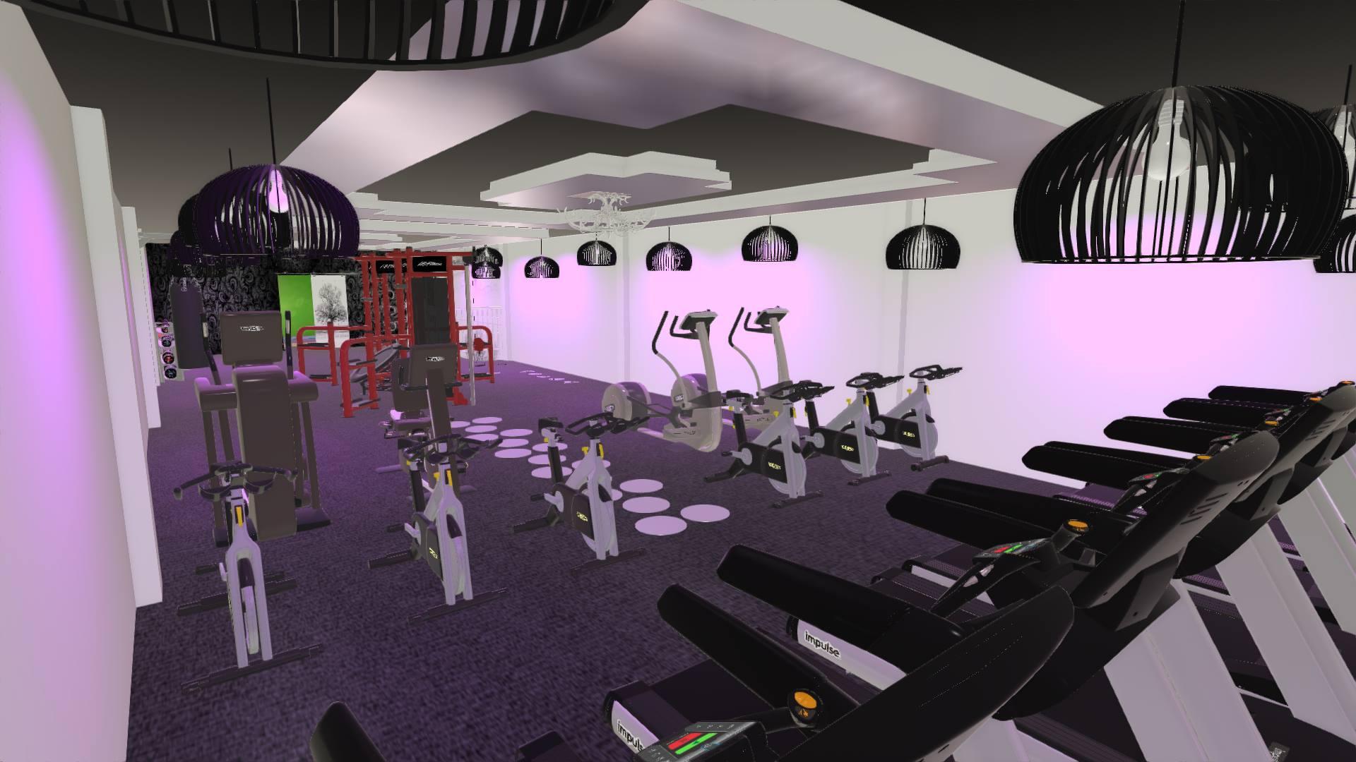 Setup phòng gym mbh fitness