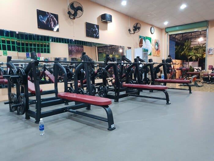 dự án kinh doanh phòng tập gym