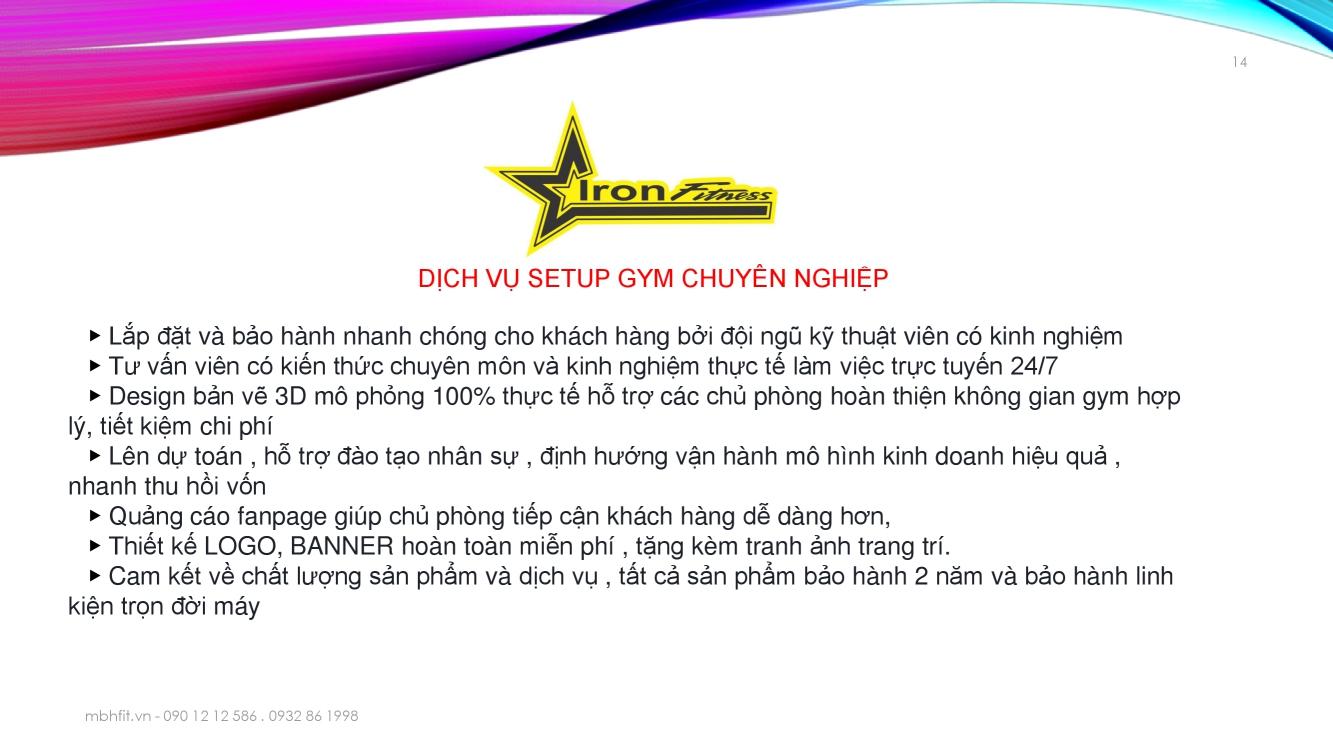 Giới thiệu MBH Fitness Việt Nam