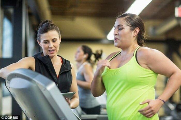lịch tập gym cho người giảm béo