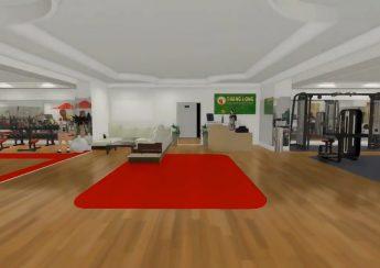 setup phòng tập gym ở Thăng Long của mbhfit