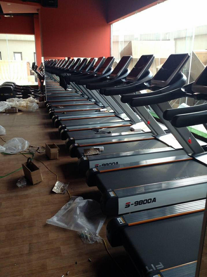 Setup Phòng tập gym Thăng Long Hà Nội