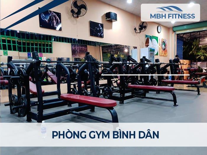 Bảng giá phòng tập gym