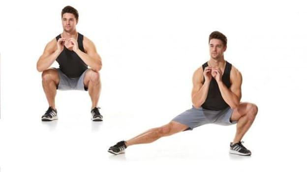 lịch tập gym ở nhà cho nam