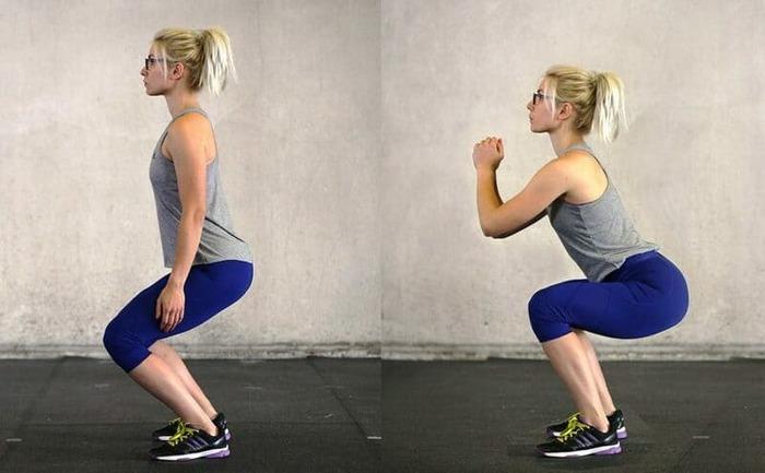 Bài tập gym đơn giản