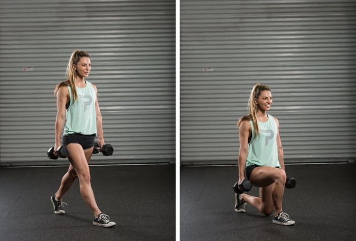 Các bài tập gym hiệu quả bằng tạ đơn