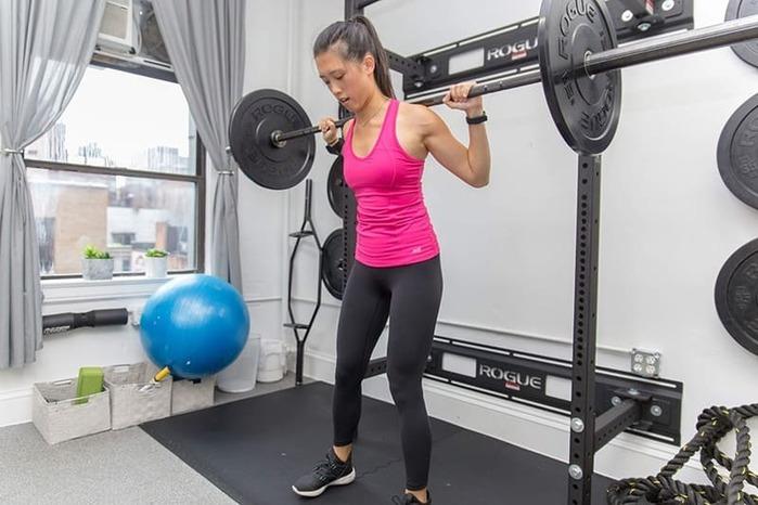 Tập gym hiệu quả với tạ đòn