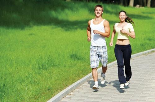 cách chạy bộ giảm mỡ bụng