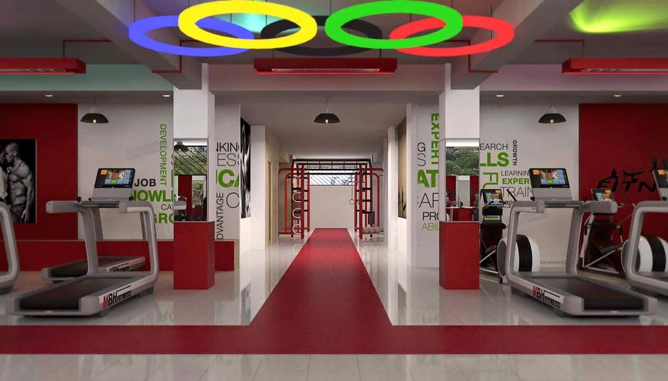 Setup phòng Gym cao cấp 600m2 tại Hội An.