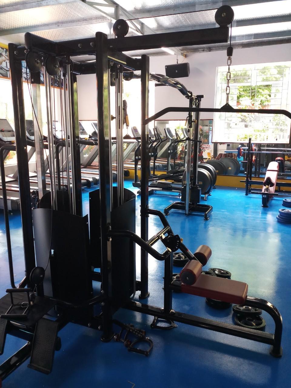 setup phòng gym 400m2