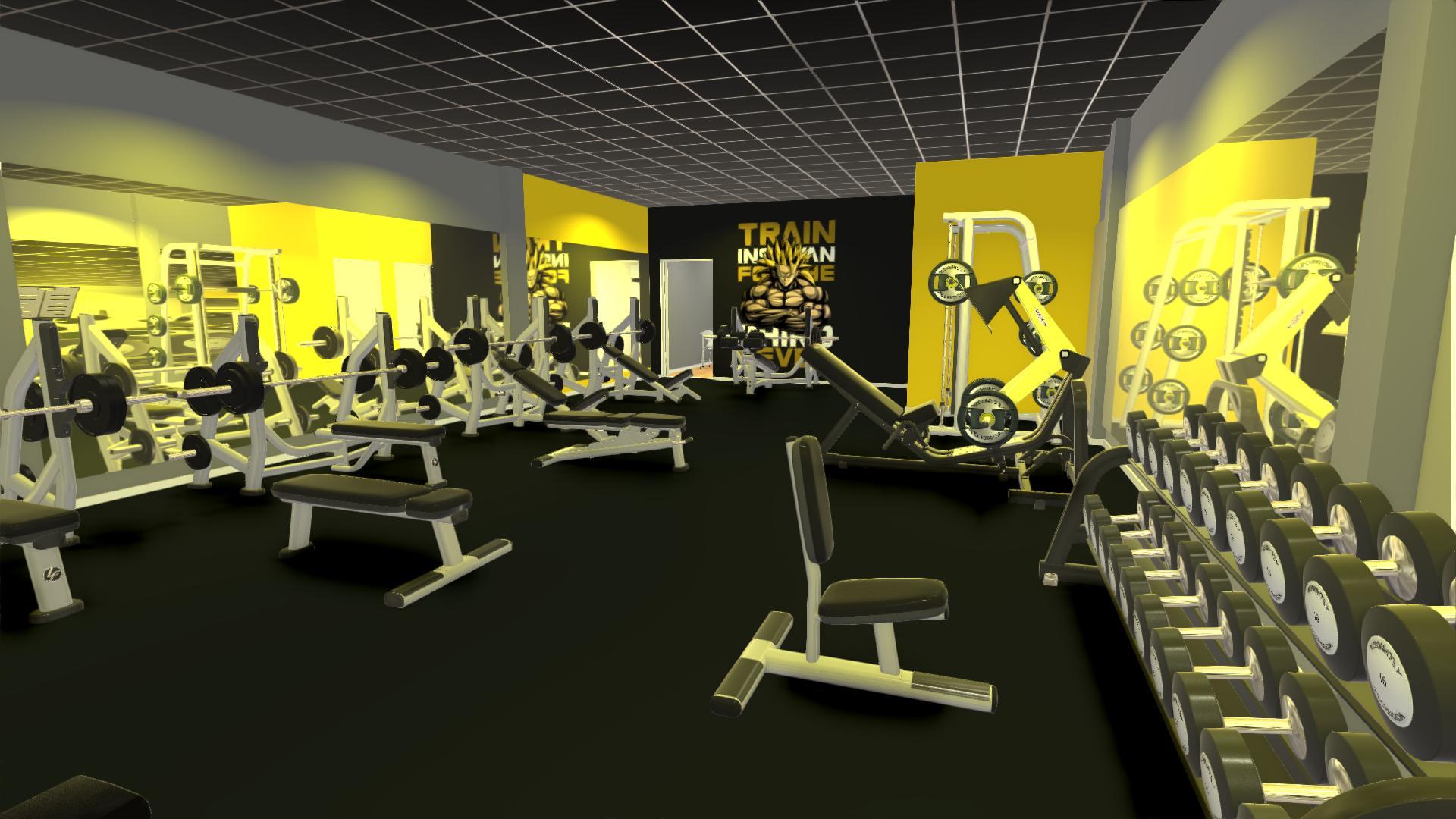 setup phòng gymsetup phòng gym