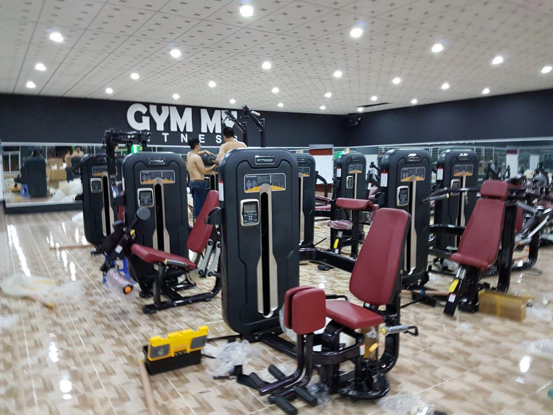Trả góp phòng gym