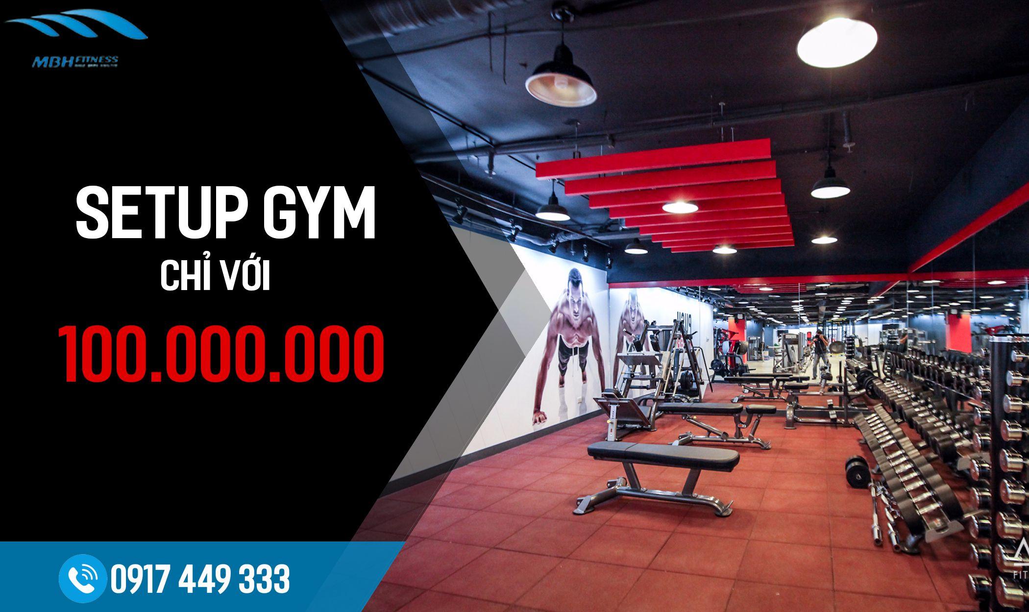 setup phòng gym mbhfit