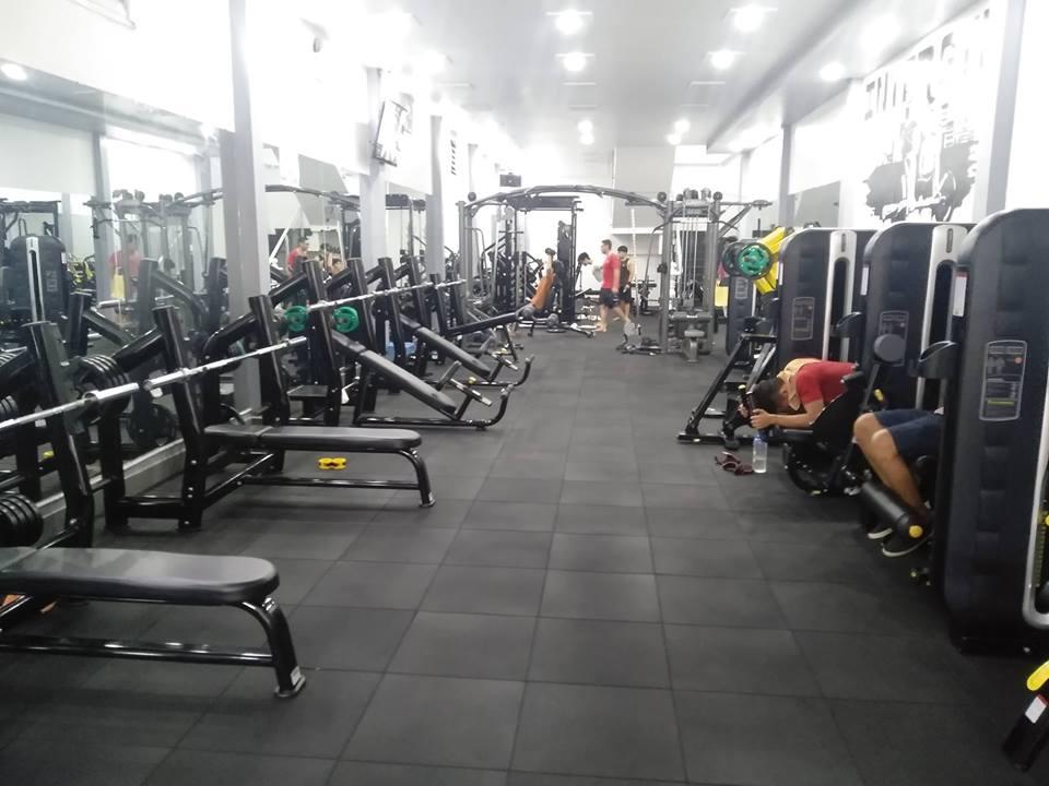 Setup phòng gym 200M2, 700 TRIỆU