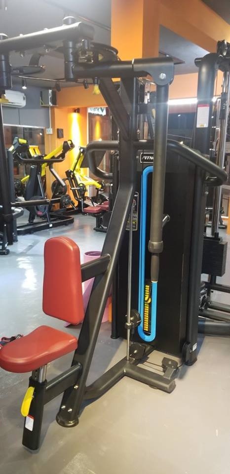 setup phòng gym 250m2, 1 trệt, 1 lầu, vốn 500 triệu
