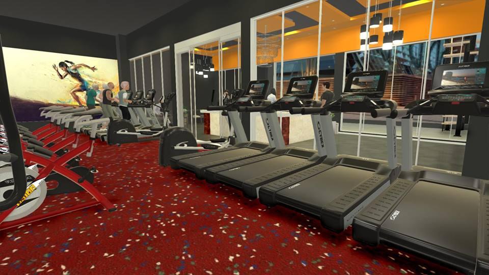Setup phòng gym 700m2, vốn 1 tỷ