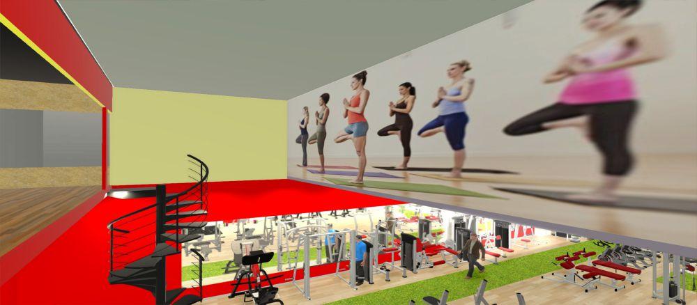 Setup phòng Gym 200m2