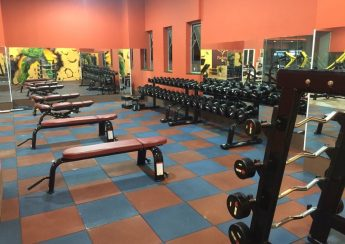 Setup phòng gym 500m2, 1 tỷ