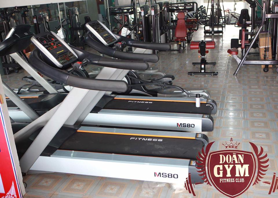 Dự án Setup phòng Gym 200m2, 476 triệu