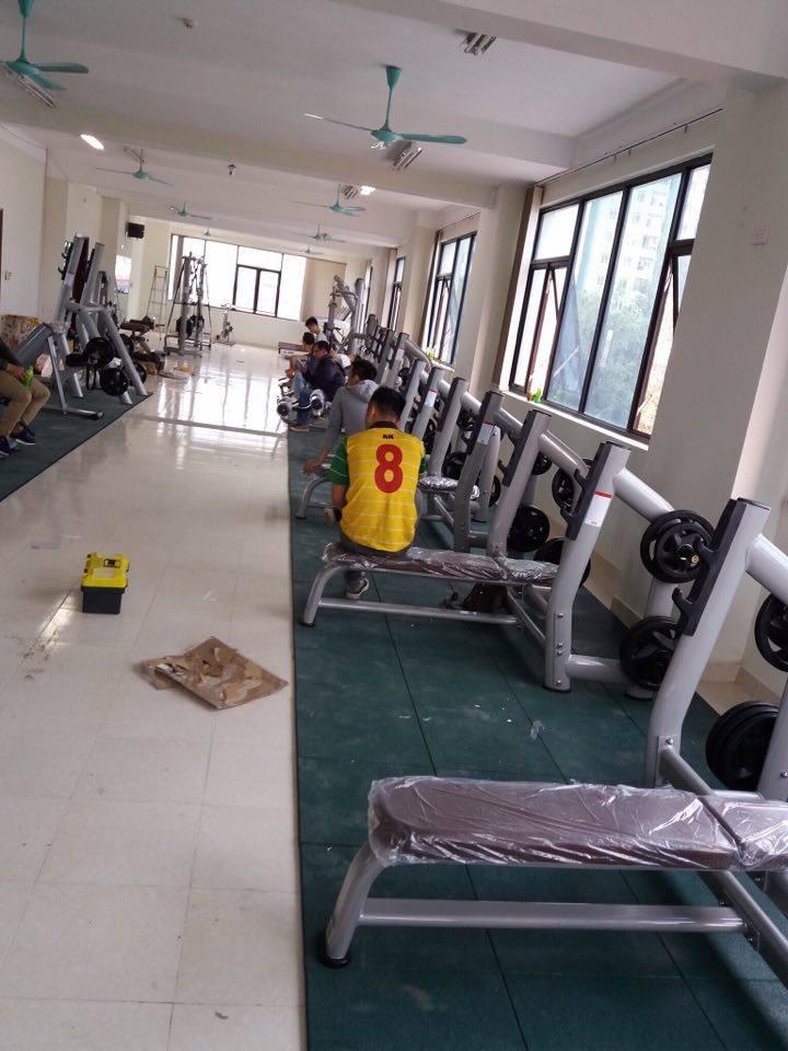 Setup phòng Gym 250m2, 477 triệu tại Hà Đông, Hà Nội