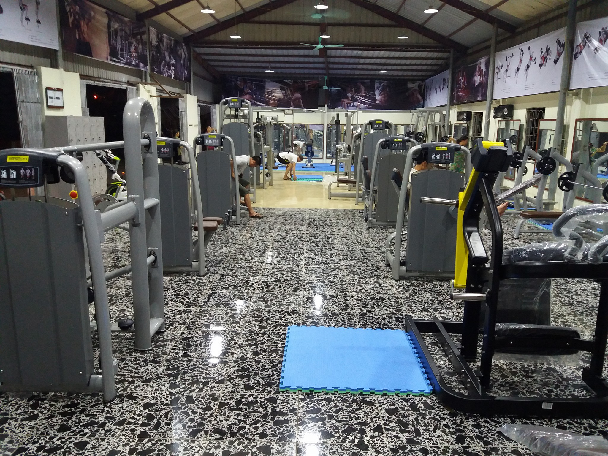 Setup phòng Gym 200m2, 420 triệu