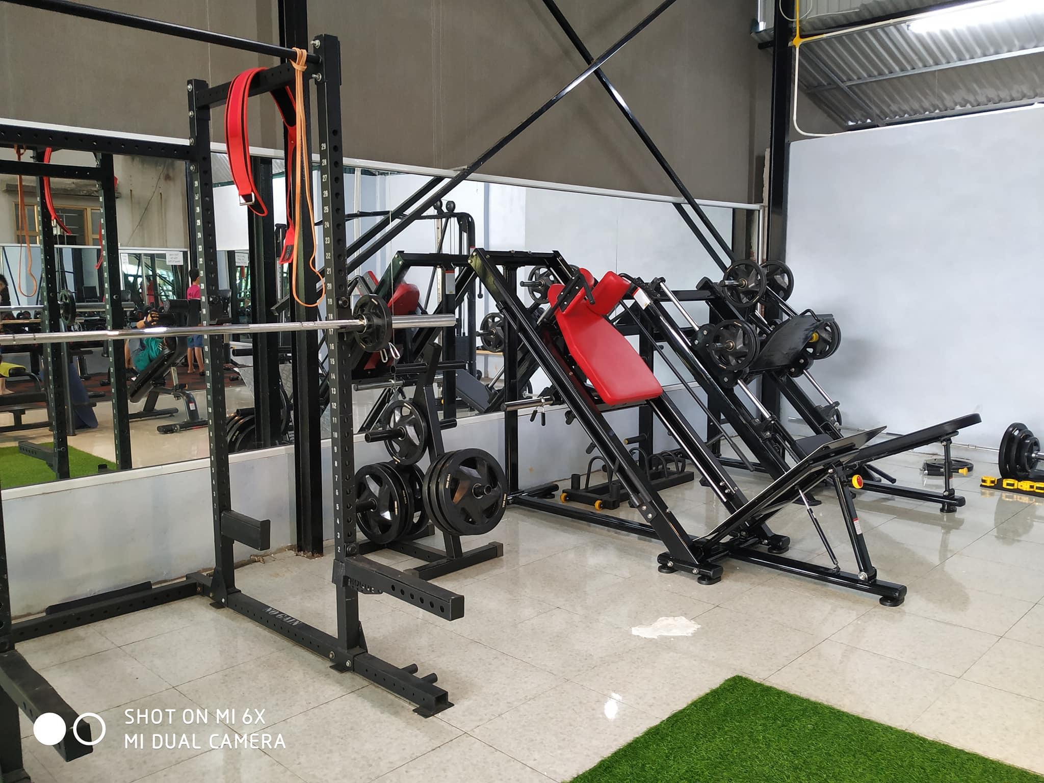 Setup phòng Gym 250m2, 500 triệu