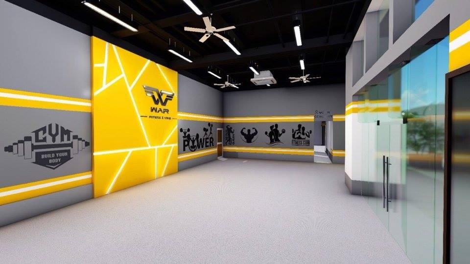 Setup phòng Gym quận 7 250m2, 460 triệu