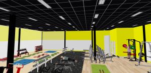 Setup phòng gym 400m2, 850 triệu tại Đà Nẵng