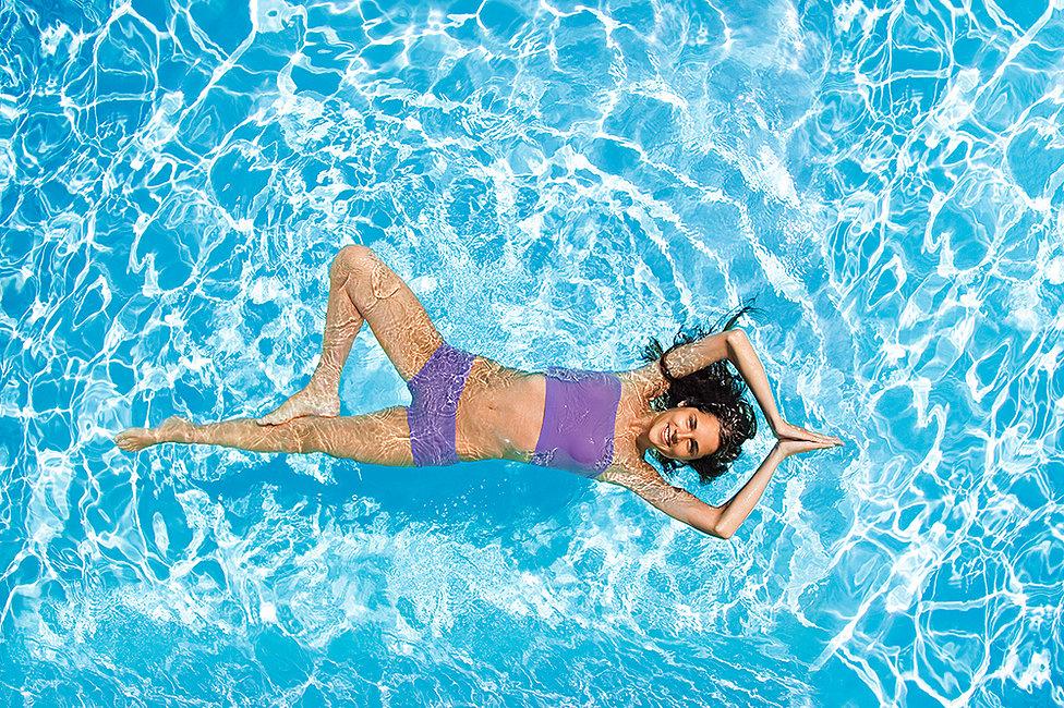 yoga dưới nước