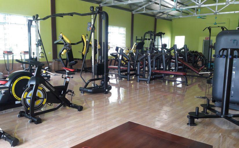 Setup dự án phòng gym Nam Định - Golden Gym 200m2, vốn 500 triệu