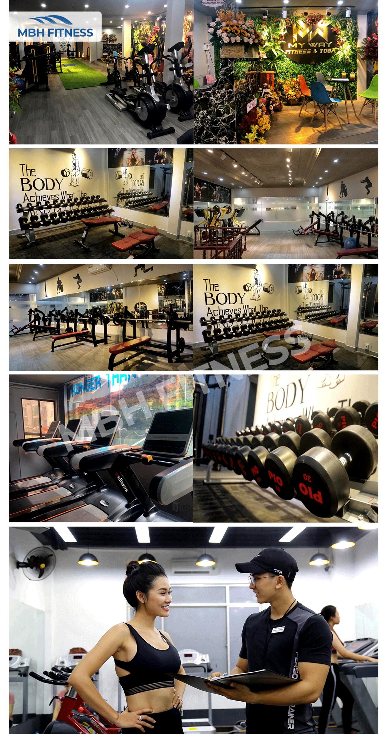Setup dự án phòng gym Phú Nhuận – Trung tâm MyWay Fitness & Yoga