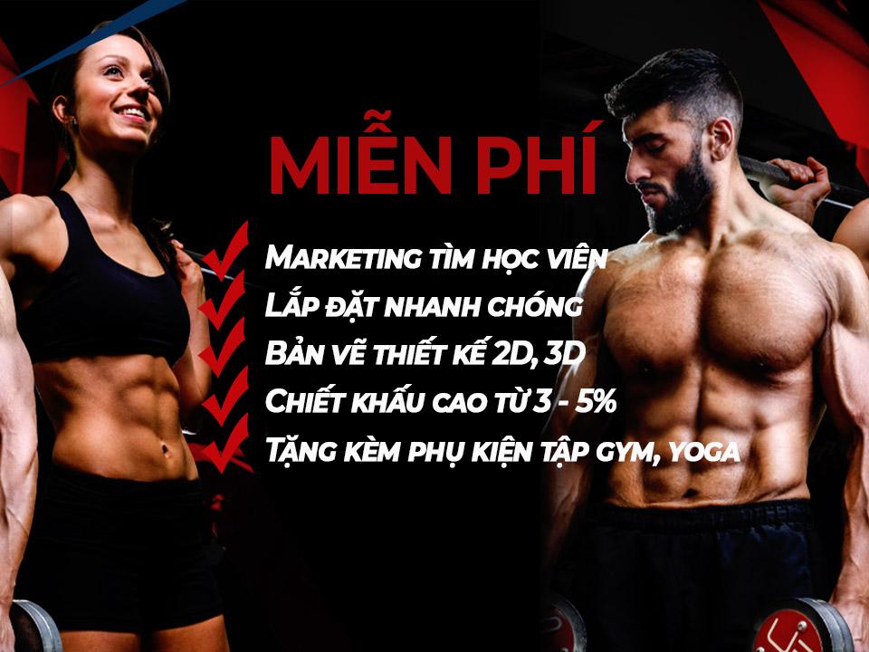 dự án phòng gym Nam Định