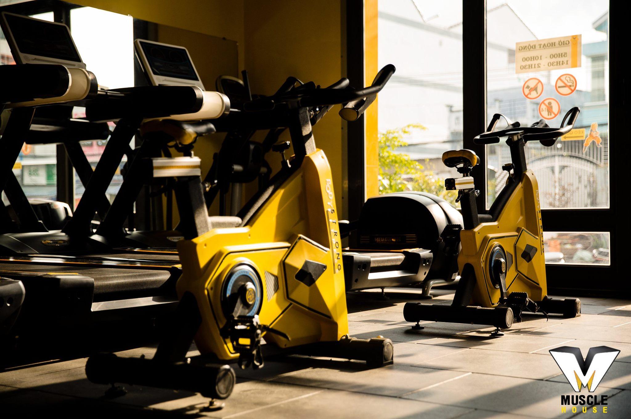 """Xe đạp"""" Body strong """"của hãng MBHFIT tại cơ sở Cà Mau"""