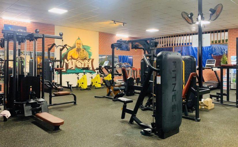 Set up phòng gym tại Bình Dương