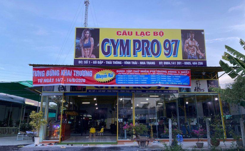 Set up dự án phòng GYM tại Xã Vĩnh Thái- Nha Trang