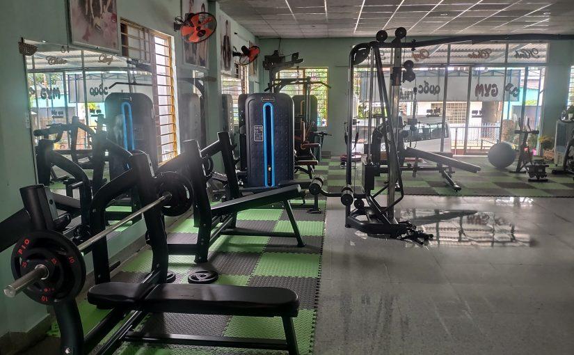 Dự án phòng gym đã set up ở Hội An ( Đà Nẵng)
